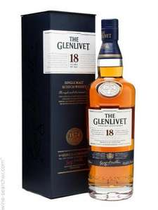 The Glenlivet 18YO Single Malt 70cl - Was £48.80 NOW £24.40 @ Tesco