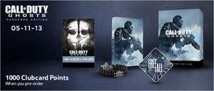 Call of Duty - Ghosts - Hardened Edition £10 off with Voucher Code + 1000 Clubcard Points -  £75 (PS4 & Xbox One) @ Tesco Direct