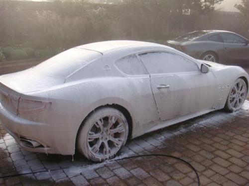 Demon Wash Snow Foam - 4.49, Instant Shine 2.99 @ Sainsburys