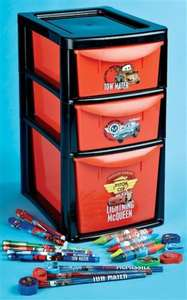 Cars drawer tower £7.49 @ 24Ace