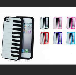 Keyboard/Piano Silicone Iphone 5 Cover + screen protector + FREE delivery!! £1.27 @ ebay geniexia
