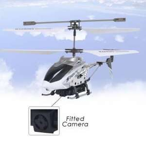 Remote Controlled Helicopter with Camera £39.99 @ menkind
