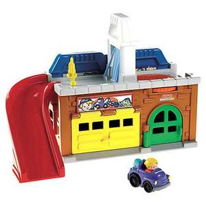 Fisher-Price Little People Stow 'n' Tow Garage  half price @ John Lewis  £10.