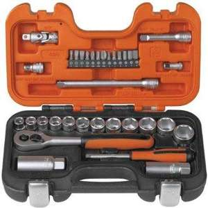 Bahco S330 Socket Set 34 Piece 1/4 and 3/8 Square Drive £31.86 @ AMAZON