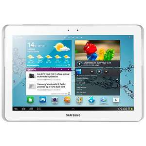 "10.1"" Samsung Tab 2 GT-P5110 White Tablet ONLY £189.95 @ John Lewis + 2yrs Warranty"