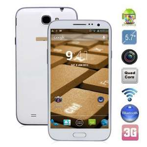 "B6000 Quad-Core Android 4.2 WCDMA  5.7"" IPS 720P Screen, GPS and Wi-Fi (8GB) Mobile Phone £131.56 @ DX"