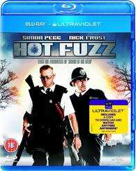 Hot Fuzz + Shaun of the dead blu ray + Ultraviolet - £5.00 delivered each @ amazon.co.uk