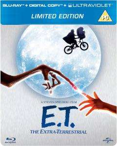 E.T. The Extra-Terrestrial - Limited Edition Steelbook (Includes Digital and UltraViolet Copy) Blu-ray - £7.95 @ Zavvi