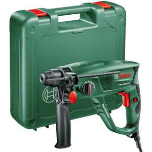 Bosch PBH2500SRE SDS+ Rotary Hammer with Extra Chuck 600W 240V Toolstop.co.uk £75.95 free p&p