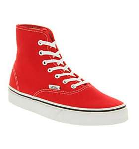 Vans Authentic Hi Trainers (various colours). Reduced from £47.99 to 22.99. £26.49 delivered@ office