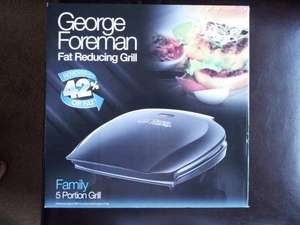 George Foreman Family 5 Portion Grill £26.00 @ Asda instore