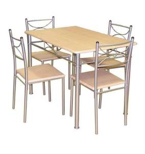 Dining Table and 4 Chairs £59.99(down from £99.99) B&M Stores.