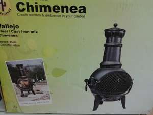 Chiminea - £12.50 instore @ Tesco