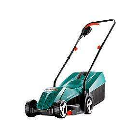 Bosch Rotak 32 1200W 32cm Rotary Electric Lawn Mower 240V £67.99 Screwfix (was £79.99) DEAL OF THE DAY ends midnight. 2YRS Warranty
