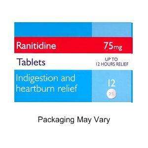 3x12 75mg Ranitidine tablets (Zantac) tablets with free delivery £6.49. @ Pharmacyfirst