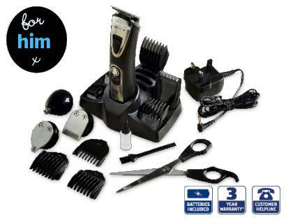 Grooming Kit £12.99 3 Year warranty@Aldi