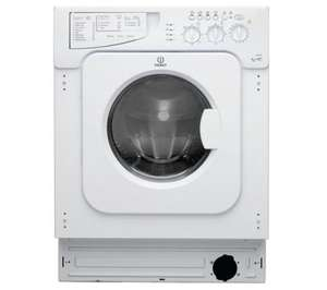 Indesit IWDE146 Integrated Washer Dryer - £333 after code @ Currys