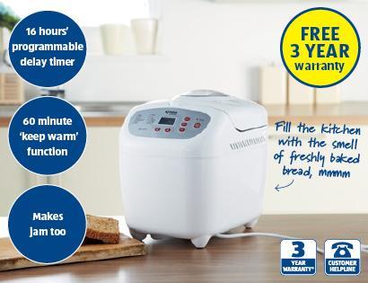 Breadmaker £34.99 @ Aldi