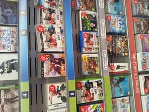 Various PS3 games including Uncharted 3 £7, Black Ops £7, Mario Kart DS £7 & Child of Eden £5 @ Morrisons (Five Ways)