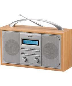 Bush Wooden DAB Radio - Argos Was £79.99 Now £29.99
