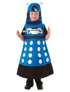 Christys Dress Up Doctor Who Dalek Costume (6 - 8 Years) £12.49  60% off @ Amazon/Mega Fancy Dress.