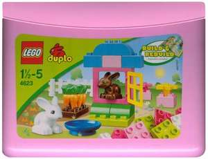 Lego Duplo Pink Brick Box (4623) now half price @ £6.50 del with Prime @ Amazon (price matched JL)