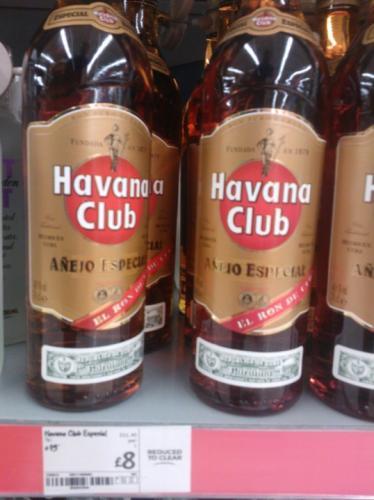 Havana Club Anejo Especial Rum 70cl £8.00 @ Asda