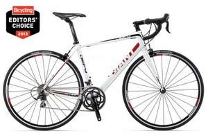 Giant Defy 1 2013 (White) Now £799.99 with Free Delivery @ Ashcycles