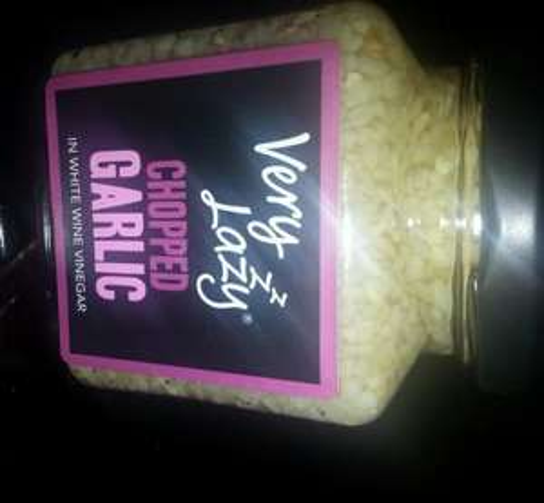 Very Lazy Chopped Garlic or Very Lazy Chilli (200g jars) 99p @ Aldi