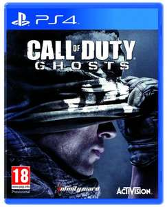 Call of duty Ghosts PS4(+ xbox one) £44, Battlefield 4 PS4  £42, Watch Dogs PS4 (£47) @ Amazon