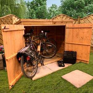 bike shed - £99.49 @ Garden Buildings Direct