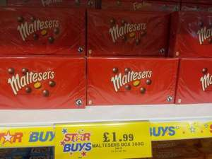 BIG box of Maltesers 360g only £1.99 at Home Bargains.