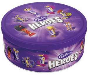 Cadbury Heroes, Celebrations Tubs for £5 tesco nationwide deal.