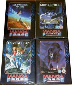Manga force anime, DVDs, £1.95 each sold by atvtoys(ebay)