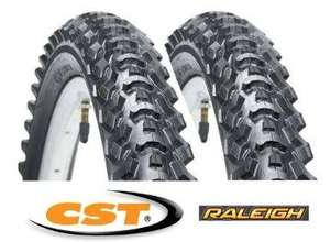 Raleigh CST Eiger Mountain Bike Tyre 26 x 1.95 - £11.79 PAIR @ Amazon and sold by Service Champions