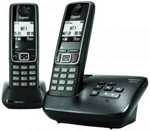Gigaset A420A Twin DECT Cordless Phone with Answer Machine £19.99 Sold by Amazon.
