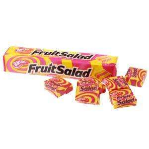 Barratt Fruit Salad Sweets Raspberry & Pineapple 5 Pack 50p @ Tesco