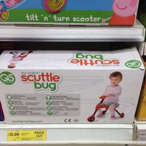 Scuttlebug bikes - better than half price! Instore! Was £25 now £12! @ Tesco