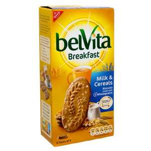 Belvita Breakfast Biscuits 300g/6 pack - Half Price - £1.24 @ Morrisons