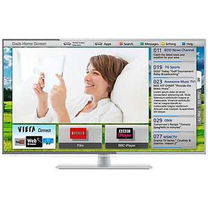 "Panasonic Viera TX-L39E6B LED HD 1080p Smart TV, 39"" with Freeview HD £429.95 @ John Lewis"