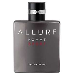 Chanel Allure Sport Eau Extreme 150ml £63 at Boots