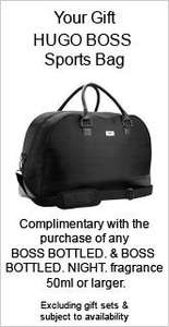 HUGO BOSS - BOSS BOTTLED 100ml  for £42 Including Free BAG worth more than £20 @ The Perfume Shop