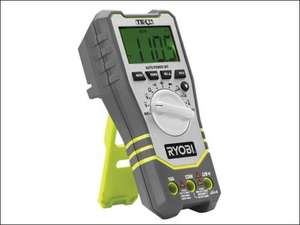 Ryobi RP4020 Digital Multimeter with Battery and Charger at FFX - £25 including free delivery