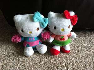 Hello Kitty Small Teddy - 30p each at Toys R Us