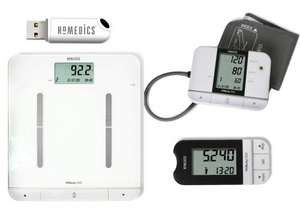 HoMedics MiBody Scales, Pedometer and Blood Pressure Monitor Fitness Analysis Set WAS £198.99 NOW £49.99 at Amazon UK