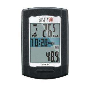Cateye Stealth 10 Wireless GPS Cycle Computer @ cycle sports uk £63.99