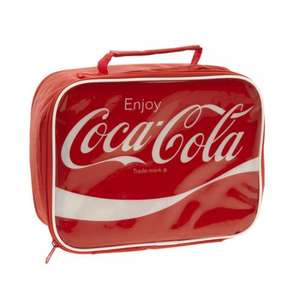 £1.74 Coca Cola Cooler Lunch Bag | Dunelm Mill