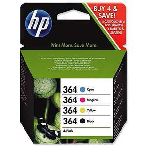 Hewlett Packard HP Ink Cartridge 364 COMBO PACK - Multi Currently in the Summer Sale instore for £20 @ ASDA