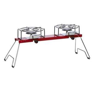 Dual burner camping stove, was £25 now £10 at Wilko (plus other stuff)