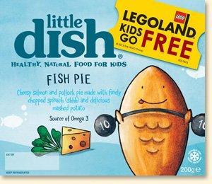 Legoland Kids go Free - voucher with Little Dish kids meals